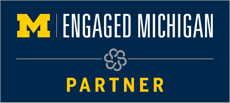 Logo for Engaged Michigan