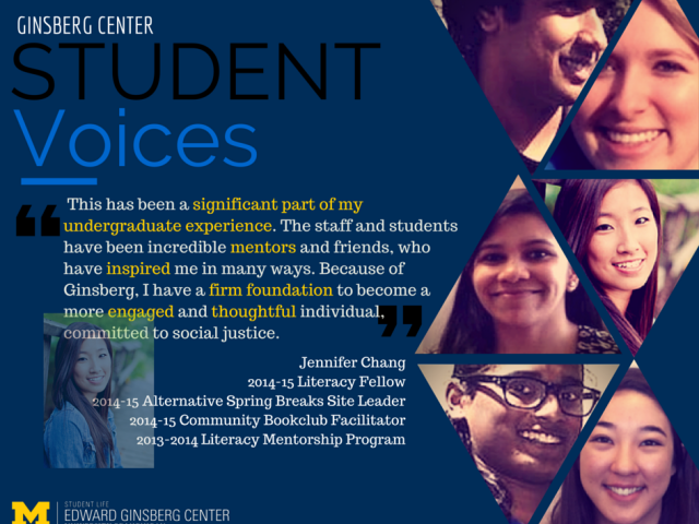 Student Voices at the Ginsberg Center