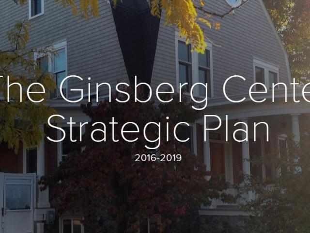 Ginsberg Center Strategic Plan