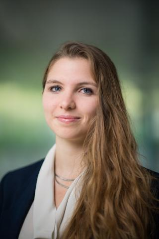 Photo of Marianna Coulentianos, a Ginsberg Center Graduate Academic Liaison