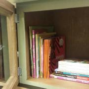 Little free library interior