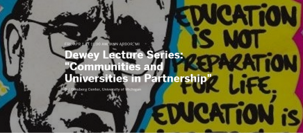 Flyer for Dewey Lecture Series